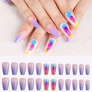 NWT water colour nails